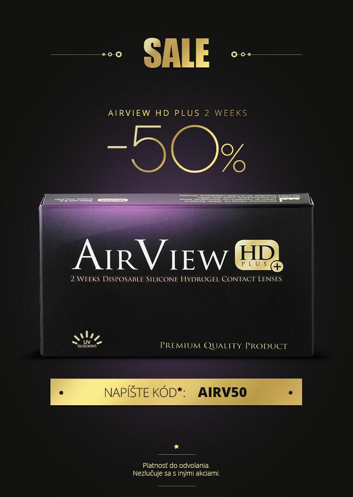 AirView HD Plus 2 Weeks -50%!