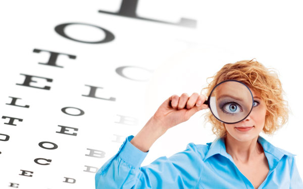 príznaky očných vád