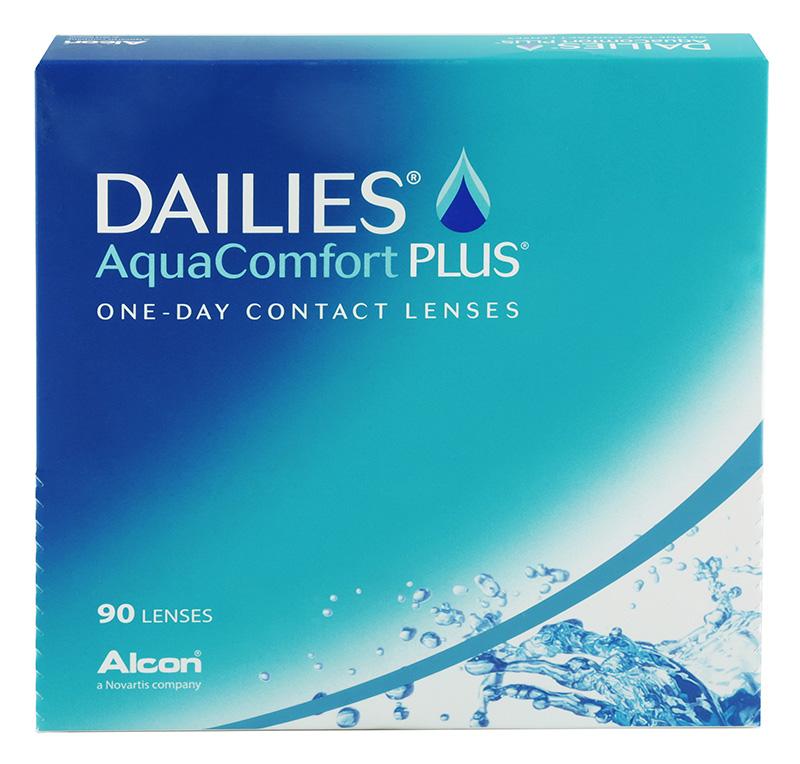 DAILIES® AquaComfort Plus® (90 šošoviek) + šošovky Zadarmo (ku 2 bal.)