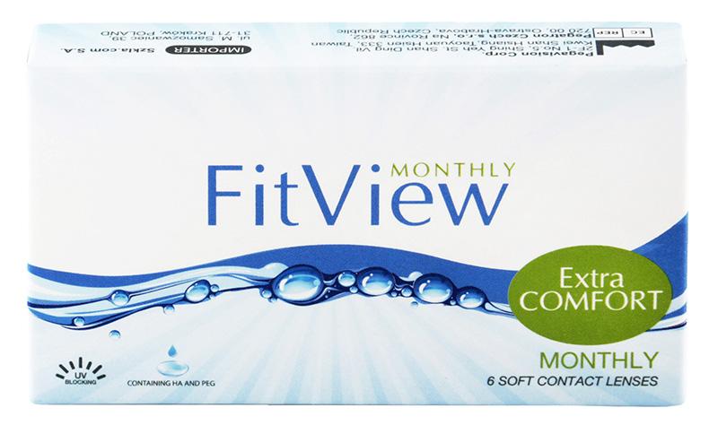 FitView Monthly (6 šošoviek) + CashBack 3€ ZDARMA! (ke 2 bal.)