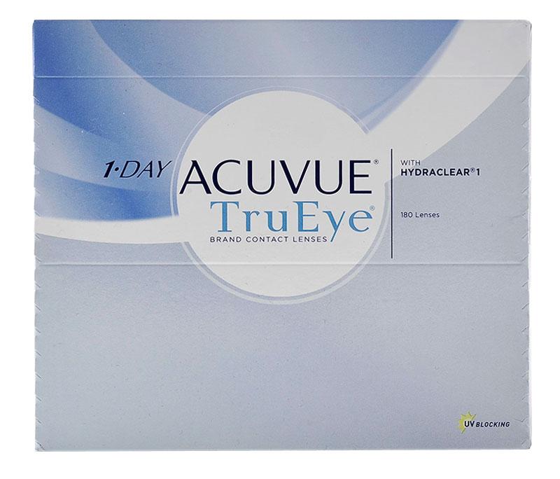 Acuvue 1-Day TRUEYE (180 šošoviek) +  šošovky Zadarmo (ku 2 bal.)