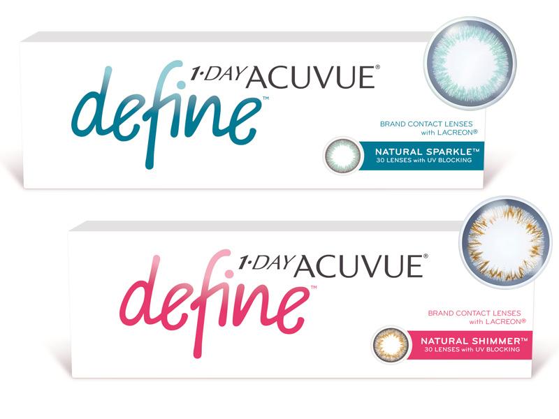 Acuvue® 1-DAY Define (90 šošoviek)
