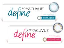 Acuvue® 1-DAY Define (30 šošoviek)