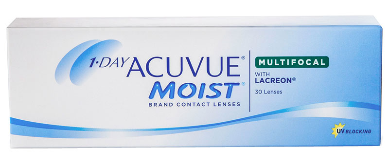 1-DAY ACUVUE® MOIST MULTIFOCAL (30 šošoviek)