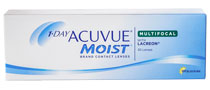 Acuvue® 1-Day Moist Multifocal (30 šošoviek)