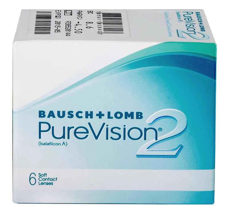 PureVision 2 HD (6 šošoviek) +  šošovky Zadarmo! (ku 2 bal.)