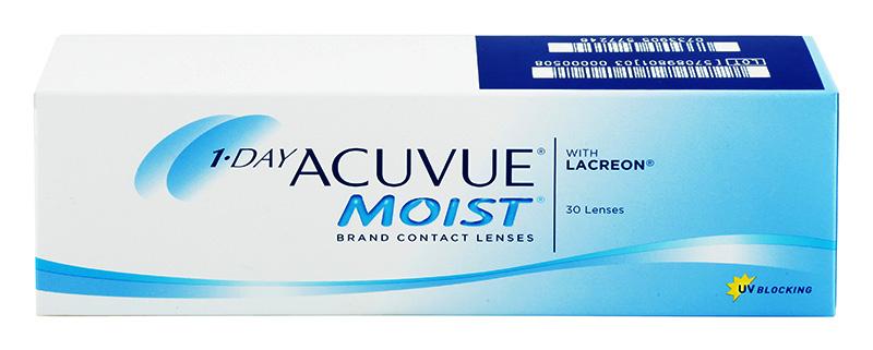 VÝPREDAJ - Acuvue® 1-DAY Moist 30 šošoviek