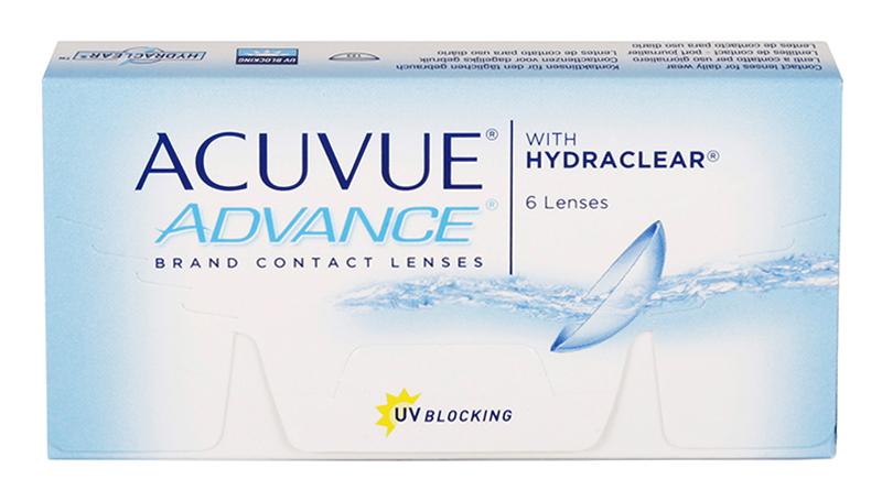 Acuvue Advance (6 šošoviek)
