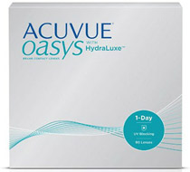 ACUVUE® OASYS 1-Day (90 šošoviek)