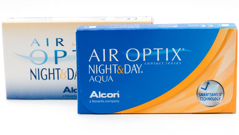 Air Optix® Night & Day® Aqua (6 šošoviek)