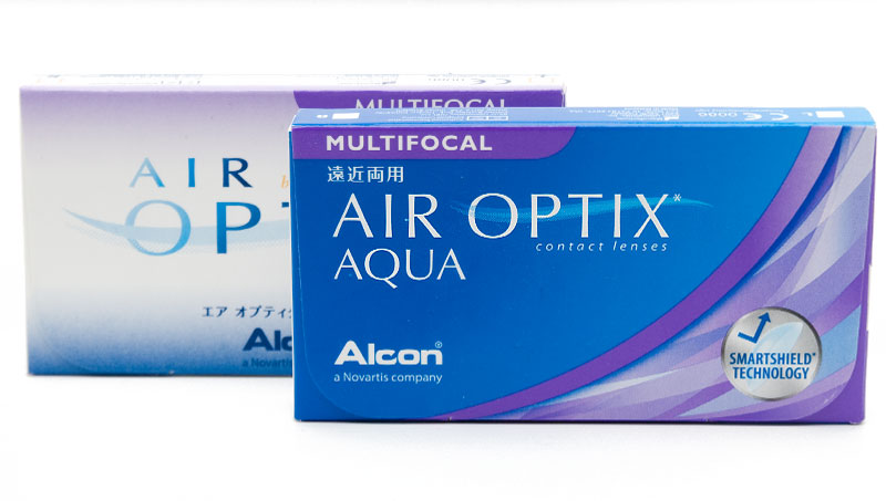 Air Optix® Aqua Multifocal (6 šošoviek)