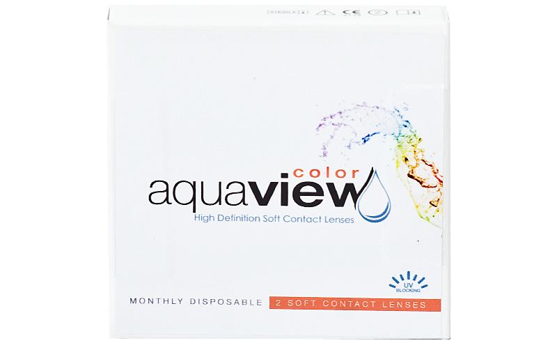AquaView Color (2 šošovky) - dioptrické