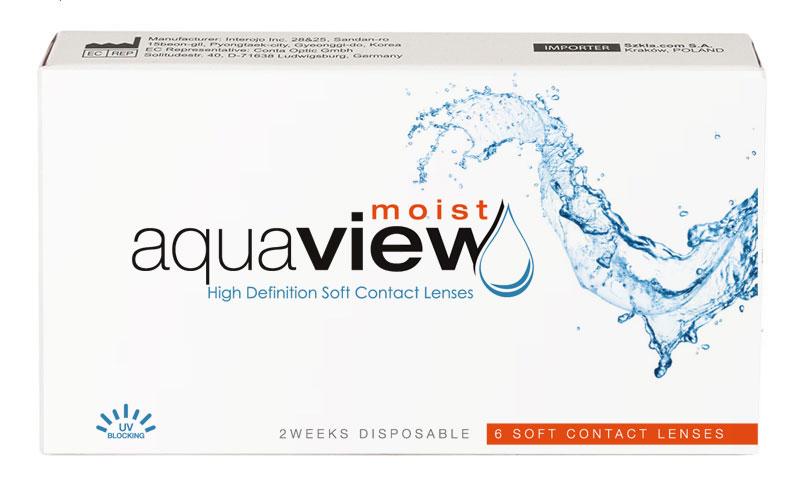 AquaView Moist 2 weeks (6 šošoviek) + šošovky Zadarmo! (ku 2 bal.)