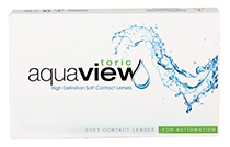 AquaView Toric (6 šošoviek) + Nákupná taška ZADARMO (ku 2 bal.)