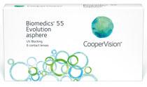 Biomedics 55 Evolution™ (Mediflex 55™) 6 šošoviek
