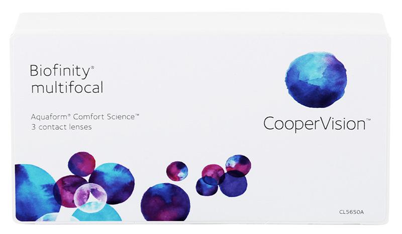 Biofinity Multifocal (3 šošovky) typ N