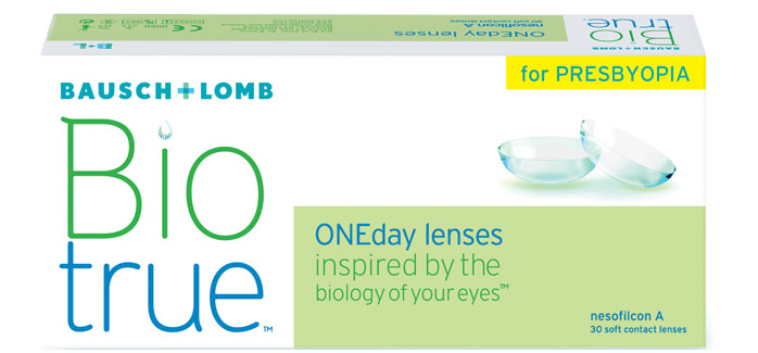 Biotrue® ONEday for Presbyopia (30 šošoviek)