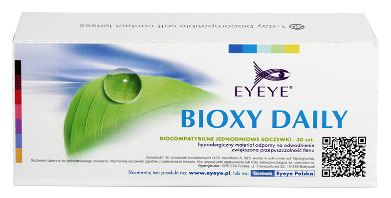 Eyeye Bioxy Daily (90 šošoviek)