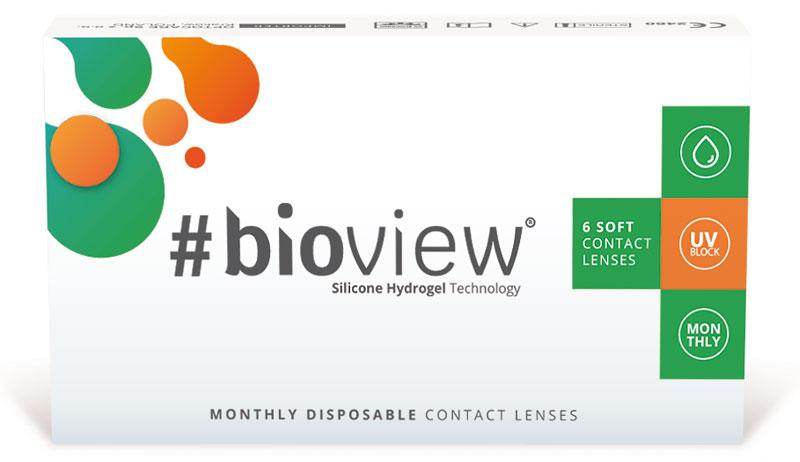 #bioview Monthly 6 šošoviek + Roztok ZADARMO! (do 2 bal.)