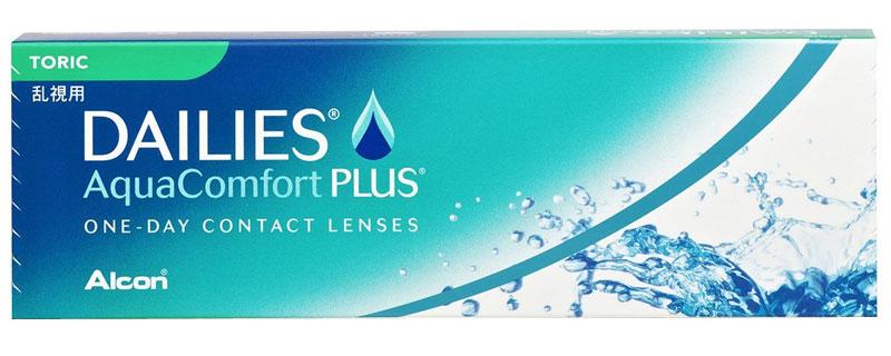 Dailies® AquaComfort Plus® Toric (90 šošoviek)