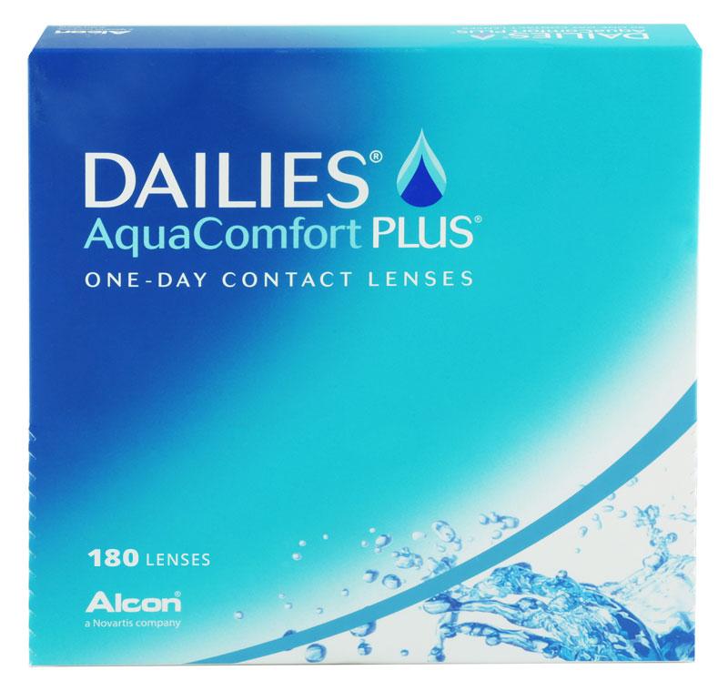 DAILIES® AquaComfort Plus® 180 šošoviek