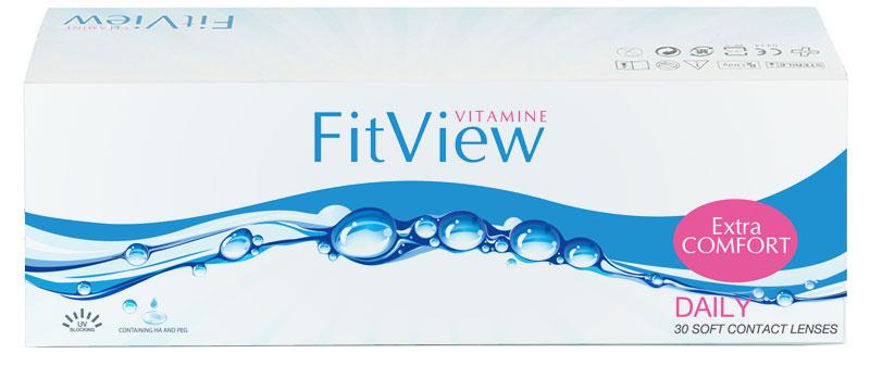 Štartovný balíček FitView Vitamine Daily (10 šošoviek)