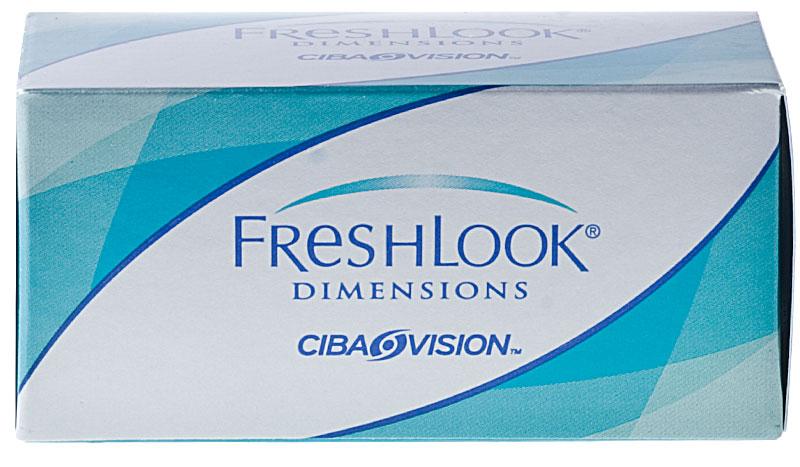FreshLook® Dimensions (6 šošoviek) - dioptrické + CashBack 3€ ZDARMA! (ke 2 bal.)