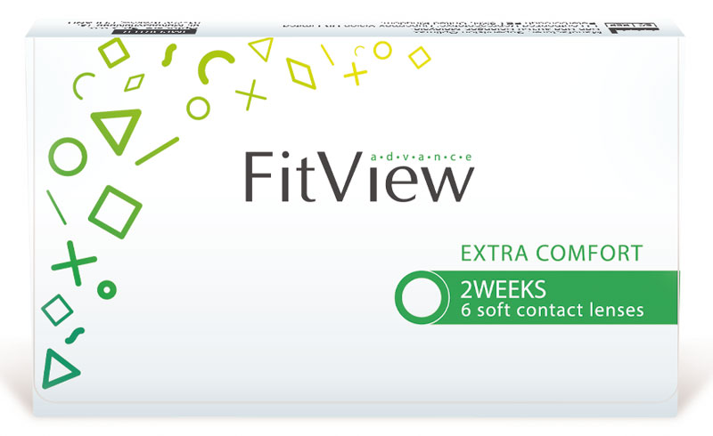FitView Advance 2 weeks (6 šošoviek)