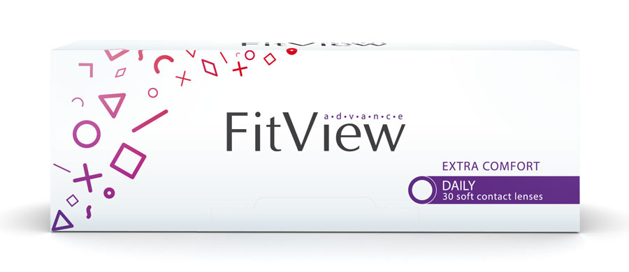 FitView Advance Daily (90 šošoviek)
