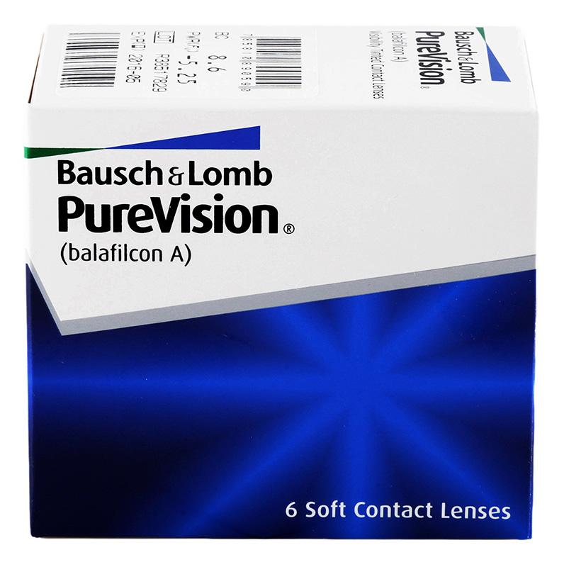 PureVision (6 šošoviek) + Roztok ZDARMA! (ke 2 bal.)
