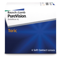 PureVision® Toric (6 šošoviek)
