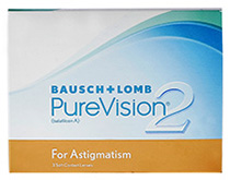 PureVision® 2 HD for Astigmatism (3 šošovky)