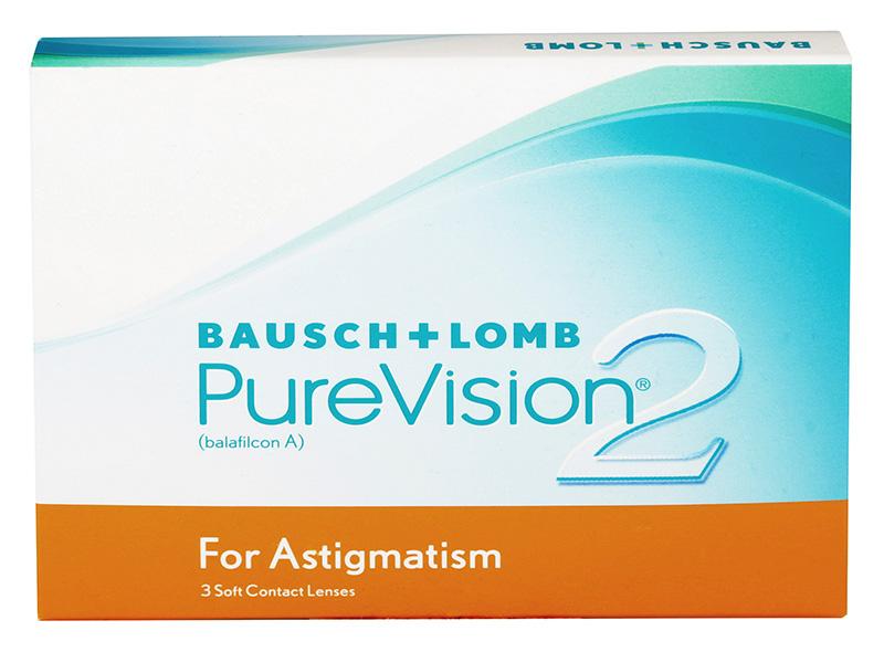 PureVision 2 HD for Astigmatism (6 šošoviek)