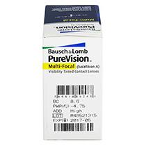 PureVision Multifocal (6 šošoviek)