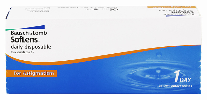 Soflens® Daily Disposable Toric for Astigmatism (30 šošoviek)